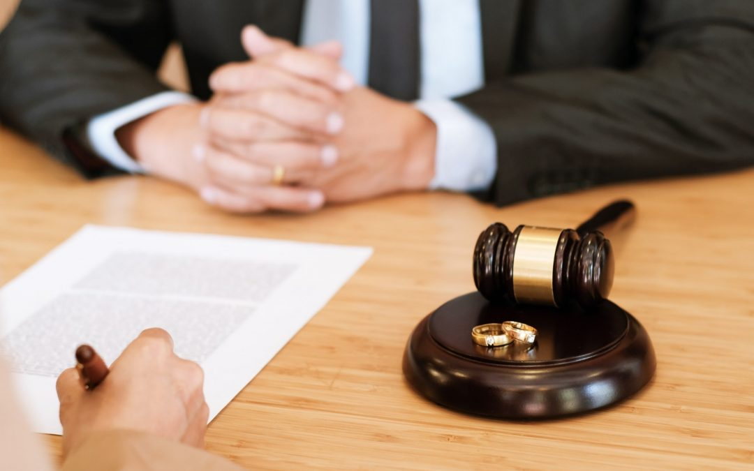 judge gavel deciding marriage divorce signing papers lawyer